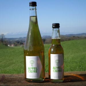 Apfelcidre brut zero - in zwei Flaschengrößen