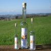 Williams-Christ-Birnen-Brand in drei Flaschengrößen
