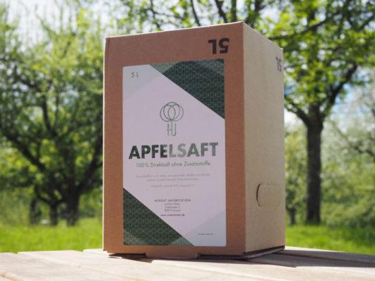 Apfelsaft aus Bio-Streuobst